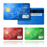 Credit Card 2 sides Royalty Free Stock Image