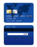 Credit card. Illustration on white background Royalty Free Stock Images