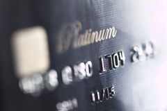 The credit card Royalty Free Stock Photo