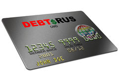 Credit Card. Typical plastic credit card with expiration date Stock Images