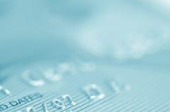 Credit card. Macro credit card stock image
