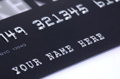 Credit Card. Photo of a Credit Card Royalty Free Stock Image