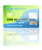 Credit card. Vector illustration of credit card. VECTOR IS FULLY AVAILABLE FOR EDITING Stock Photography