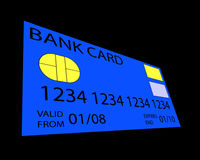 Credit Card. An image for money concepts featuring a credit card Royalty Free Stock Photos