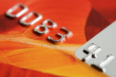 Credit card. Royalty Free Stock Image