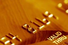 Credit card. Stock Photos
