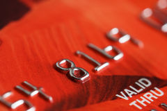 Credit card. Stock Image