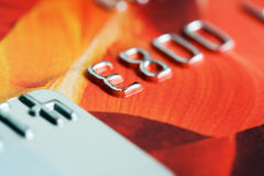 Credit card. Royalty Free Stock Photography
