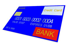 Credit Card 9 Royalty Free Stock Photos