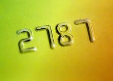 Credit card account Stock Photos