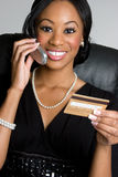 Credit Card Businesswoman Royalty Free Stock Photo