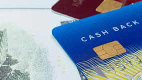 Credit card close up image for business content stock images