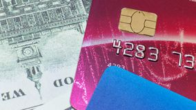 Credit card close up image for business content stock photos