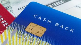 Credit card close up image for business content royalty free stock image