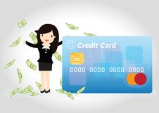 Credit Card Concept Royalty Free Stock Images