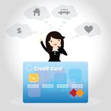 Credit Card Concept Royalty Free Stock Image