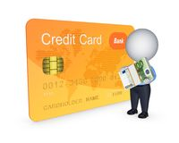 Credit card concept. Royalty Free Stock Photography