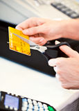 Credit Card Cutting Stock Photography