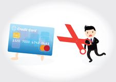 Credit Card Debt Concept Royalty Free Stock Image