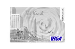 Credit card. Stock Image