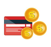 Credit card electronic commerce Royalty Free Stock Photography