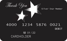 Credit card generic Royalty Free Stock Photography