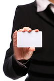 Credit card in the hand Stock Photo