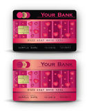 Credit card heard Royalty Free Stock Photos