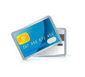 Credit card icon Royalty Free Stock Photo