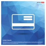 Credit card icon. Free vector icon royalty free illustration