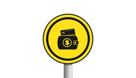 Credit card,icon,sign,3D illustration. Credit card,icon,sign,best 3D illustration Royalty Free Stock Photography