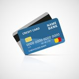Credit card icon Royalty Free Stock Photos