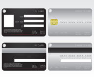 Credit card and id card Royalty Free Stock Image