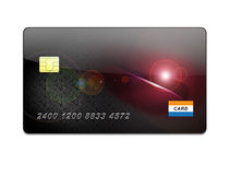 Credit card illustration Royalty Free Stock Photo