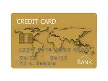 Credit card illustration Royalty Free Stock Photos