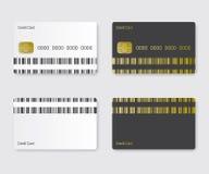 Credit card illustration Stock Images