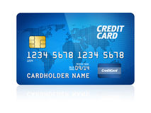 Credit Card Isolated Royalty Free Stock Image