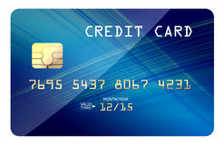 Credit Card Isolated Stock Photo