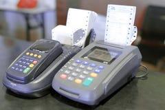Credit card machine Royalty Free Stock Image