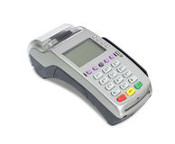 Credit card machine Royalty Free Stock Image