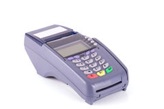 Credit card machine Stock Image