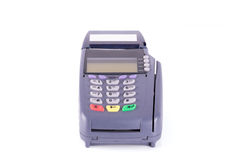 Credit card machine Royalty Free Stock Photos