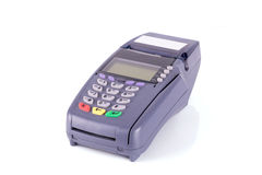 Credit card machine Royalty Free Stock Photos