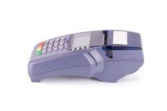 Credit card machine Stock Photo