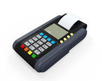 Credit Card Machine Isolated Stock Images