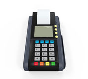 Credit Card Machine Isolated royalty free illustration