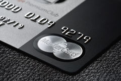Credit card MasterCard Stock Images