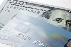 Credit Card Money Royalty Free Stock Photography