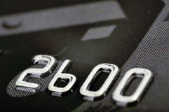 Credit card numbers Stock Photos