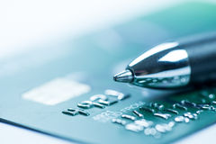 Credit card online shopping payment Royalty Free Stock Images